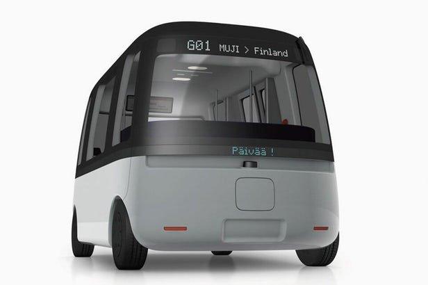 اتوبوس خودران قطبی