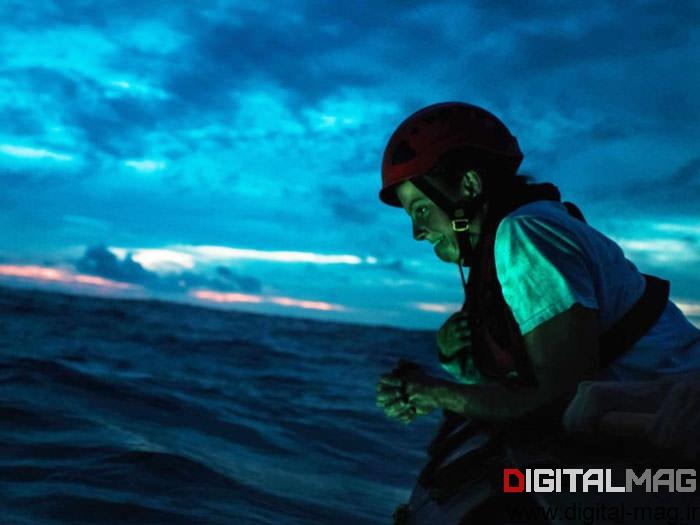 مهندس اقیانوس، مولی کوران در حال انتظار برای بازگشت اورفئوس به سطح آب