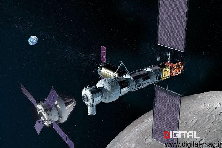پشتیبان ایستگاه فضایی قمری